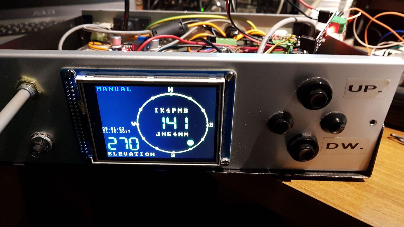 Arduino Rotator Control